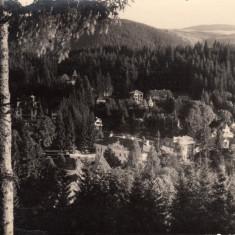 BORSEC, VEDERE GENERALA, G.HEITER, FOTOGRAF AL CURTII REGALE - Carte Postala Transilvania 1904-1918, Necirculata, Fotografie