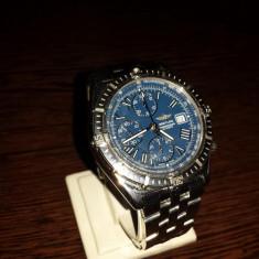Breitling Crosswind Chronograph Ref. A13055 1998 AUTENTIC - Ceas barbatesc Breitling, Lux - elegant, Mecanic-Automatic, Inox, Cronograf