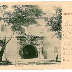 1916 - L i t h o, ALBA-IULIA - old postcard - used - 1902 - Carte Postala Transilvania pana la 1904, Circulata, Printata
