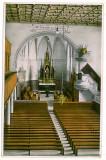 2236 - Brasov, CODLEA, Interiorul Bisericii Evanghelice - old postcard - unused