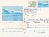 Bnk fil CP cu stampila ocazionala Zbor omagial Bacau Bucuresti 1994