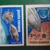 """Romania 1969 LP 702 - serie nestampilata MNH """"Apollo 9 si 10"""" - Timbre Romania"""