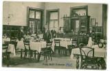 1121 - Hunedoara, SIMERIA, Restaurantul - old postcard - used - 1912, Circulata, Printata