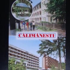 SEPT15-Vedere/Carte postala-Calimanesti-Caciulata-circulata