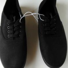 Tenisi/Espadrile Slazenger 42, 48EU -produs original- IN STOC - Tenisi barbati, Culoare: Negru