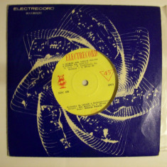 "Disc vinil MIHAELA PASARIN / CONSTANTIN DRAGHICI (format mic 7"" - EDC 450), electrecord"