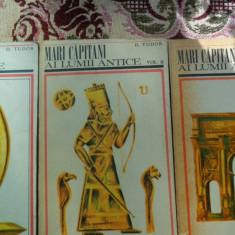Mari capitani ai lumii antice 3vol.an 1969/1020pag/ilustratii/harta- D.Tudor - Istorie