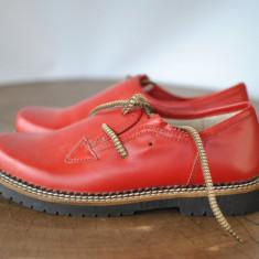 PANTOFI DE PIELE MARIMEA 38 - Pantof dama, Culoare: Din imagine, Cu talpa joasa