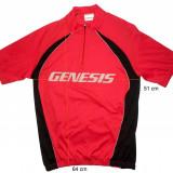 Tricou bicicleta ciclism GENESIS original, tesatura fagure (M spre L) cod-171865 - Echipament Ciclism, Tricouri