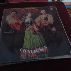 DISC VINIL ROMANY VOCAL AND INSTRUMENTAL TRIO GYPSY SONGS