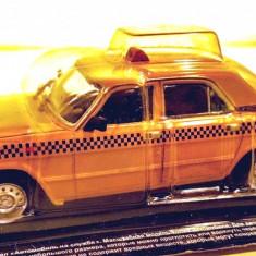 Macheta Gaz 3110 Taxi Volga, 1:43 - Macheta auto