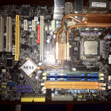 Placa de baza MSI P35 NEO 2 + procesor+memorie RAM
