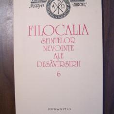 Filocalia, vol 6 - D. Staniloae (Humanitas, 2009) - Carti ortodoxe