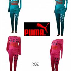 TRENINGURI PUMA, MATERIAL BUMBAC, LIVRARE GRATUITA - Trening dama Puma, Marime: S, M, L, Culoare: Roz