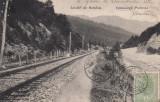 VALEA LARGA PRAHOVA  SALUTARI DIN ROMANIA  CALEA FERATA , TCV , CIRC. IUN.''906