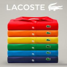 Tricouri Lacoste | Tricouri Polo | 100% originale - Tricou barbati, Marime: S, M, L, XL, XXL, XXXL, Culoare: Din imagine, Maneca scurta, Bumbac