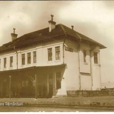 Balti, Basarabia, Gara Pamanteni, Ed. Libraria Romaneasca, ¬1920-25, Necirculata, Fotografie