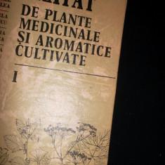 Tratat De Plante Medicinale Si Aromatice Cultivate vol 1 +vol2 - Emil Paun - Carte Medicina alternativa