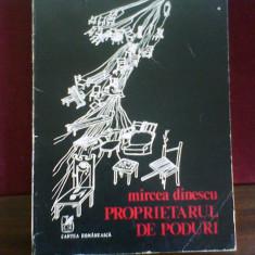 Mircea Dinescu Proprietarul de poduri, ed. a II-a - Carte poezie