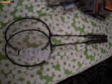 SET de 2 Rachete de badminton POWER 108 - Attacker si 3 fluturasi, NOI
