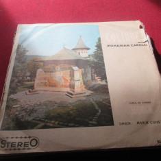 DISC VINIL CORUL DE CAMERA MADRIGAL COLINDE