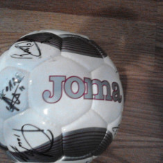 Minge Joma cu Autografe jucatori + antrenor CFR Cluj !!! - Minge fotbal