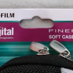 Husa, geanta aparat foto compact marca Fujifilm Finepix Softcase SC-J, NOU - Husa Aparat Foto