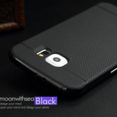 Carcasa de protectie pt Samsung Galaxy S6 Spigen Neo Hybrid Remake NEGRU - Husa Telefon