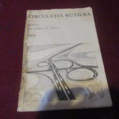 MANUAL CIRCULATIA RUTIERA 1971