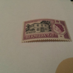 Anglia/colonii/bermuda restaurant/serie MNH - Timbre straine, Nestampilat