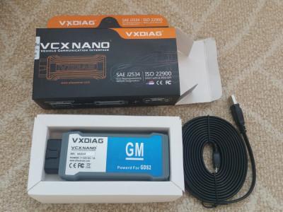Interfata  diagnoza VXDIAG VCX NANO WiFi pentru  GM/OPEL GDS2 v2018 foto