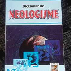DICTIONAR DE NEOLOGISME - ONUFRIE VINTELER - DEX
