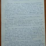 3 pagini de manuscris Mihail ( Michel ) Steriade, scriitor roman din Belgia - Carte Editie princeps