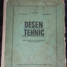 DESEN TEHNIC - NICOARA, PRECUPETU, GEORGESCU