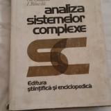 ANALIZA SISTEMELOR COMPLEXE - Boldur Latescu, Gh. Ciobanu, I. Bancila
