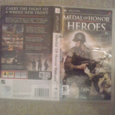 Medal of Honor Heroes - Joc PSP ( GameLand ) - Jocuri PSP, Shooting, 12+, Single player