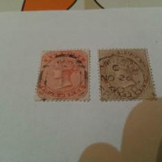 Anglia/colonii/bermuda 1880 reg.victoria/serie stampilata