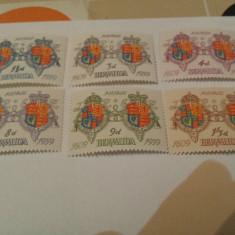 Anglia/colonii/bermuda 1959 blazoane/serie MNH - Timbre straine, Nestampilat