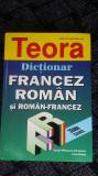 DICTIONAR FRANCEZ ROMAN , ROMAN -FRANCEZ ,  IRINA ELIADE ,SANDA CIRSTEANU .