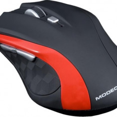 Mouse Modecom Wireless MC-WM5 optic negru cu rosu, Optica, Peste 2000