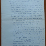 2 pagini de manuscris Maria Banus, semnate - Carte Editie princeps