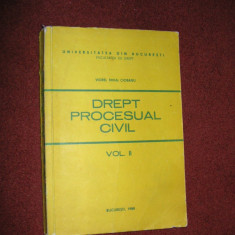 DREPT PROCESUAL CIVIL - VOL ll - VIOREL MIHAI CIOBANU - Carte Drept procesual civil
