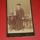 fotografie veche ,Germania -BAVARIA, anii 1900 ,Elev german ,scolar ...