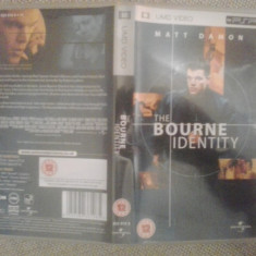 The Bourne Identity - Film UMD PSP (GameLand), Alte tipuri suport, Engleza