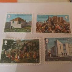Anglia/man 1977 j.wesley/ serie MNH - Timbre straine, Nestampilat