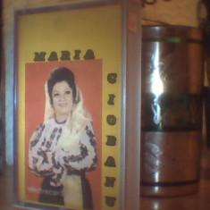 CASETA AUDIO ORIGINALA MARIA CIOBANU  ELECTRECORD  STC 00715 DIN 1988