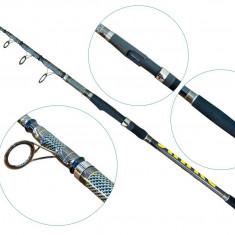Lanseta fibra de carbon Telescopica Baracuda Snake Tele Carp 3907 Actiune 3 Lbs, Lansete Telescopice