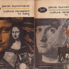 Jakob Burckhardt - Cultura renasterii in Italia (504, 505).Vol. I + Vol. II - 33966 - Certificare