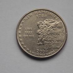 QUARTER DOLLAR USA NEW HAMPSHIRE 2000, Europa
