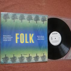 FOLK - LP culegere romaneasca de Muzica Folk electrecord (vinil stare NM) Muzica excelenta!